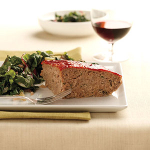 Turkey Meatloaf Pie with Sauteed Swiss Chard