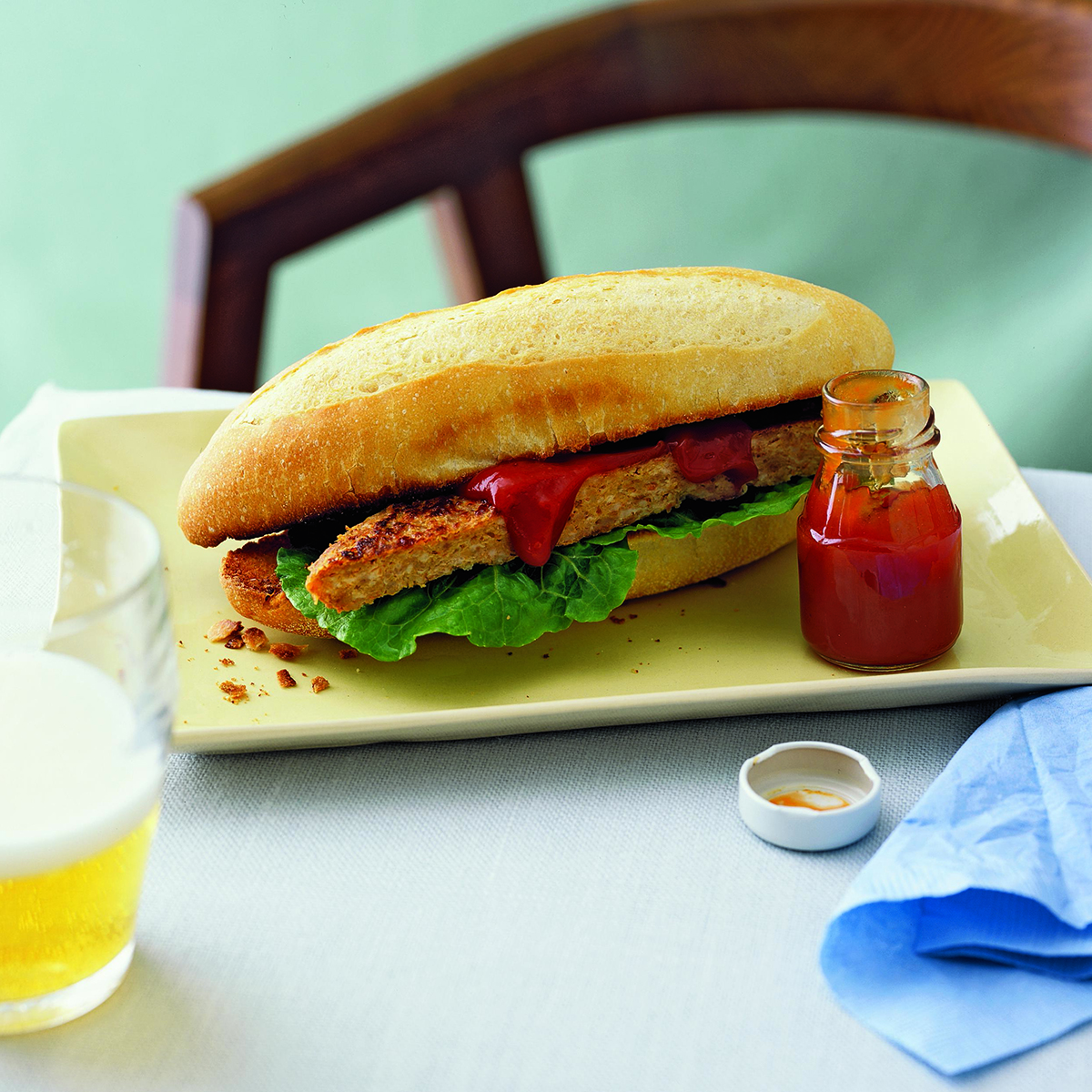 Turkey Meatloaf Sandwiches