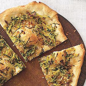 Zucchini-Onion Pizza