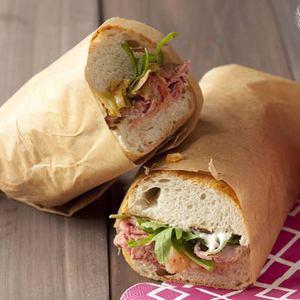 Beefy Korean Sandwich