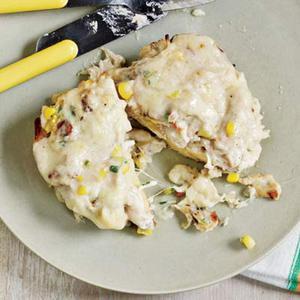 Corny Sammies: Crab-and-Corn Melts