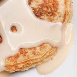Crunchy PB&J Pancakes