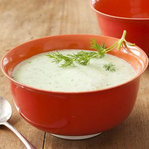 Cucumber-Yogurt Soup