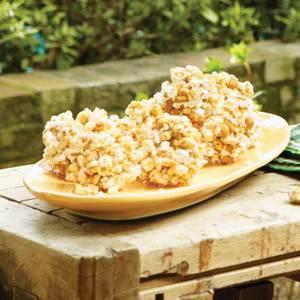 Five-Spice Popcorn Balls