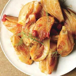 Garlic-Braised Fennel