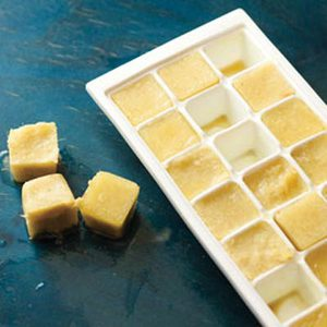 Ginger Ice Cubes