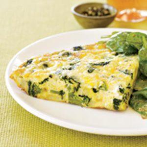Green & White Frittata