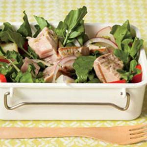 Grilled Tuna-and-Watercress Salad