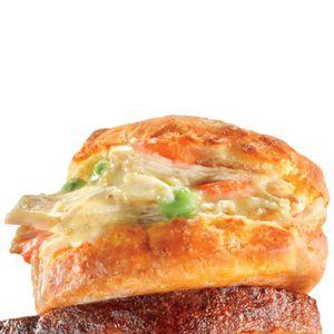 Handheld Potpie Sandwich
