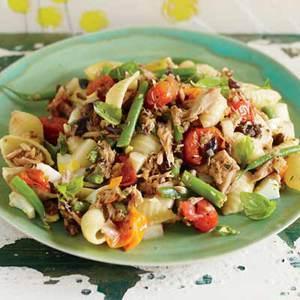 Hot or Cold Nicoise-Style Tuna Pasta
