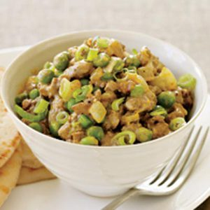 Lamb & Peas Curry, Please!