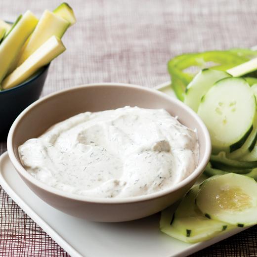 Low-Fat Sour Cream Dip