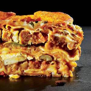 Matzo-Pizza Lasagna