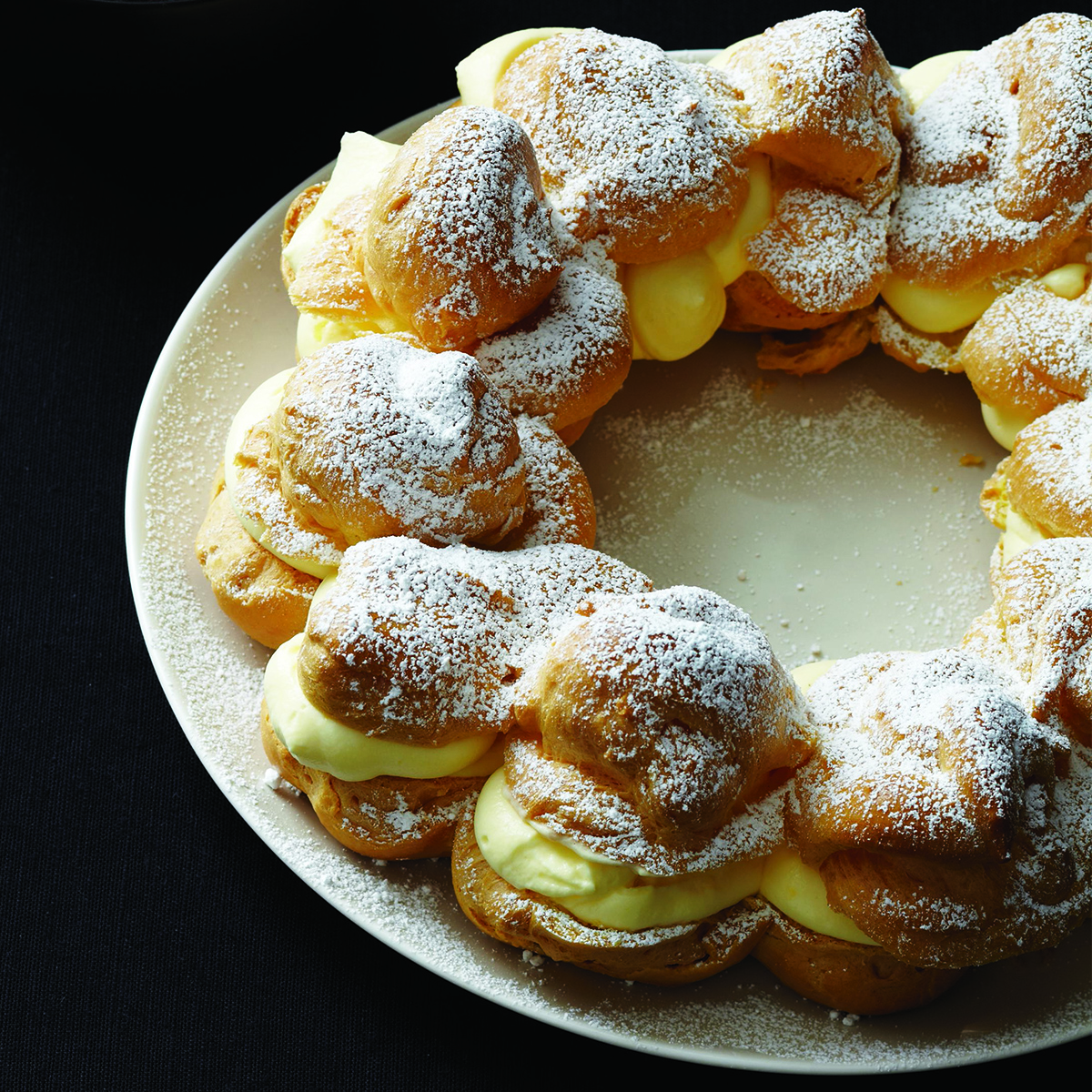 one perfect cream puff