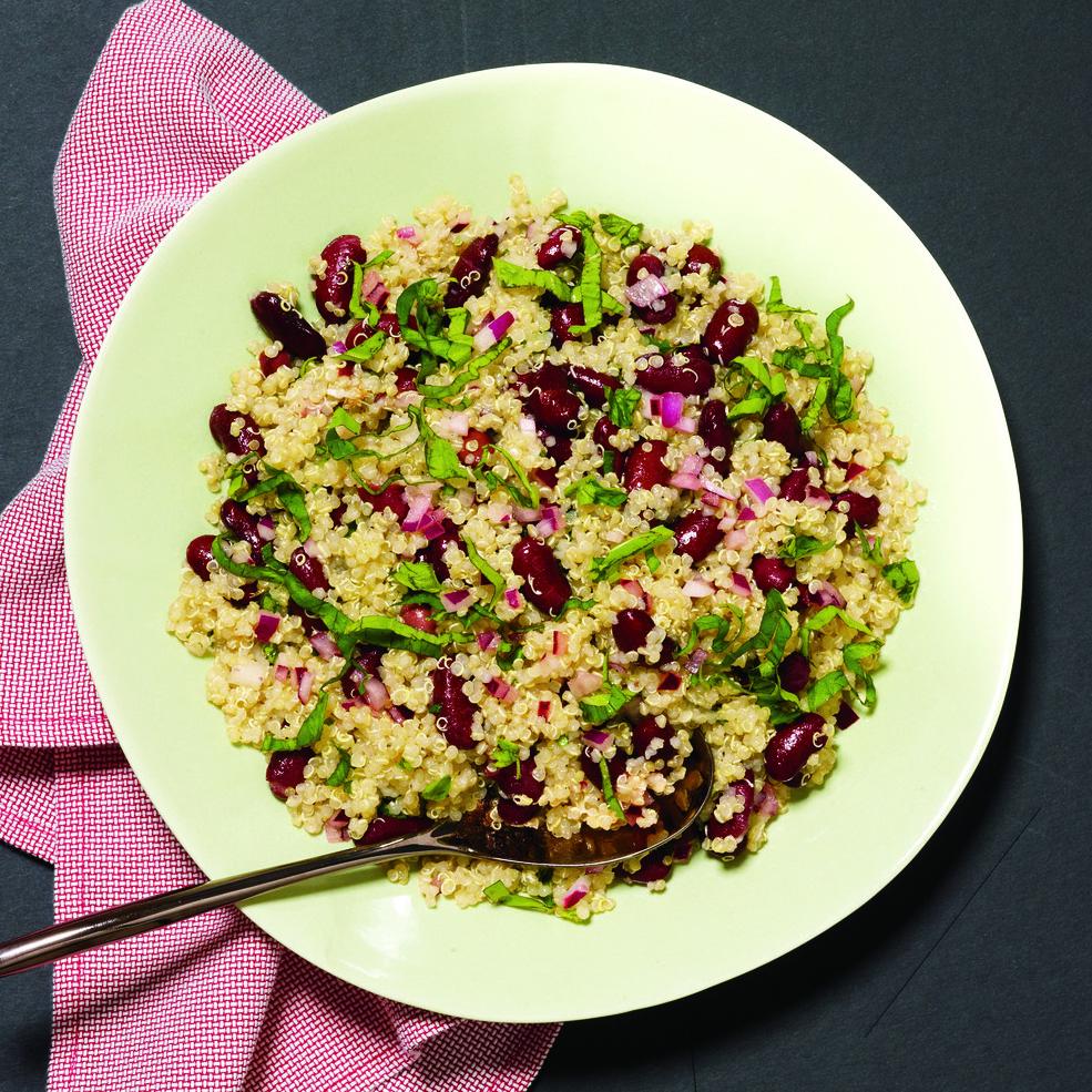 Quinoa-and-Bean Salad