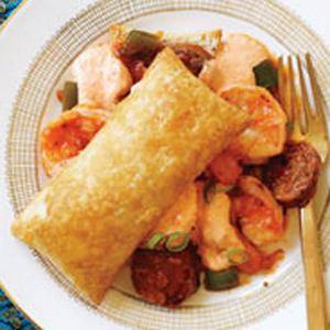 Shrimp & Andouille Puffulettas