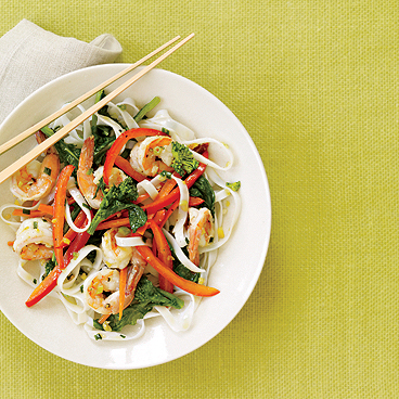 Shrimp & Noodle Stir-Fry