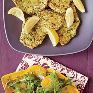 Sicilian Swordfish Cutlets and Citrus Salad