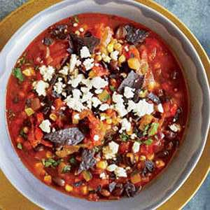 Succotash-Salsa Soup