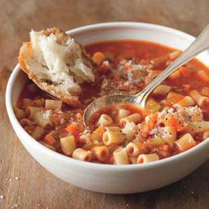 Tomato Pasta Stoup