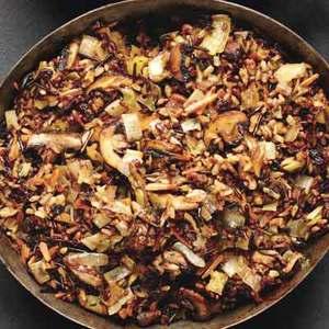 Wild Rice & Mushroom Stuffing