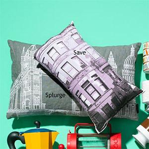 city-scene pillows