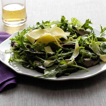 Asparagus & Portobello Salad