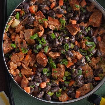 Bacony Black Bean Dip