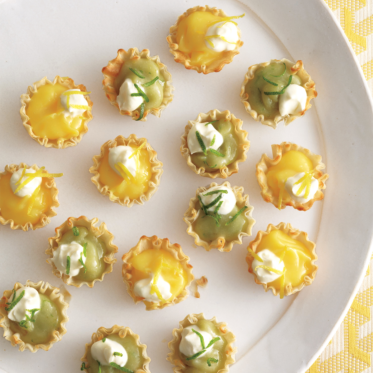 Itty-Bitty Lemon or Lime Pies