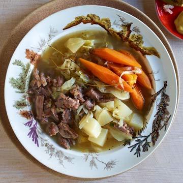 Chunky Beef & Veggie Soup