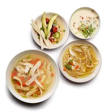 Chicken Soup 10 Ways