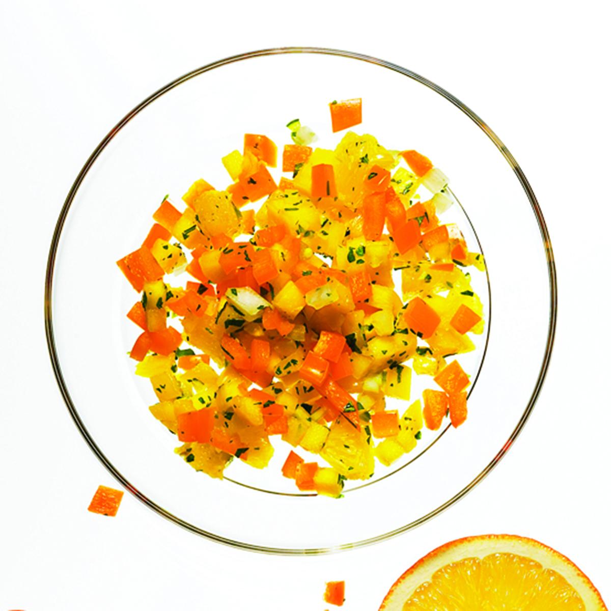 Spicy Orange & Mango Salsa