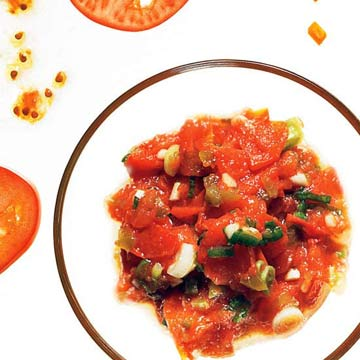 Tangy Roasted Tomato Salsa