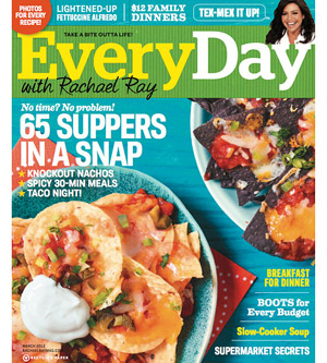 Everyday with Rachael Ray March 2012 Cover