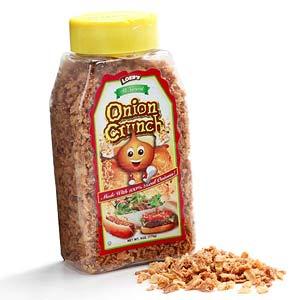 Onion crunch
