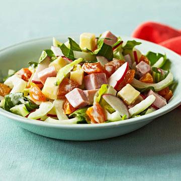 Bok Choy Chef Salad
