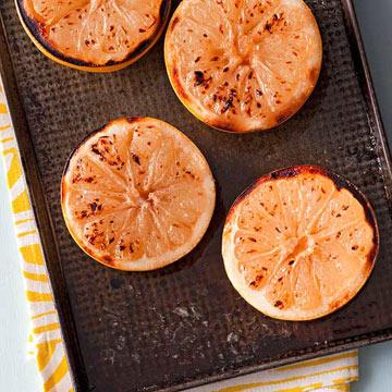 Buttery Grapefruit Brulee