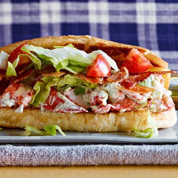 Mexican BLT Lobster Rolls