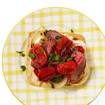 Roast Beef & Spicy Tomato Sammy