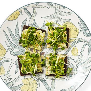 Very Veggie Tea Sandwiches