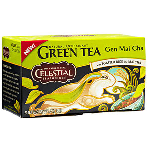 Celestial Seasonings Gen Mai Cha Green Tea