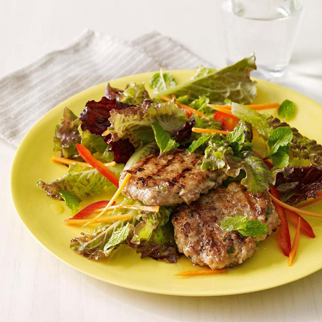 grilled thai turkey salad