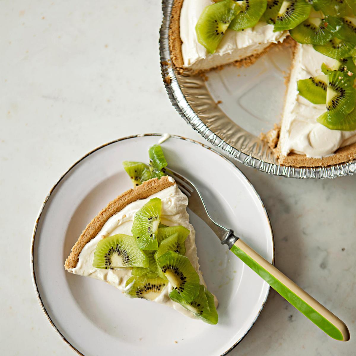 kiwi lemon cheesecake