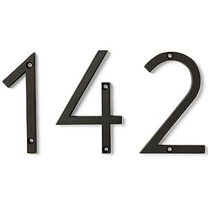 Atlas Homewares Avalon Numbers