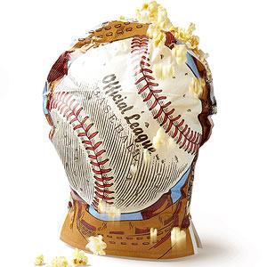 Baseball Popcorn
