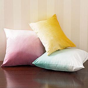 Dip-Dye Pillows
