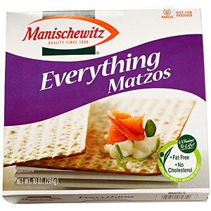 Manischewitz Everything Matzos