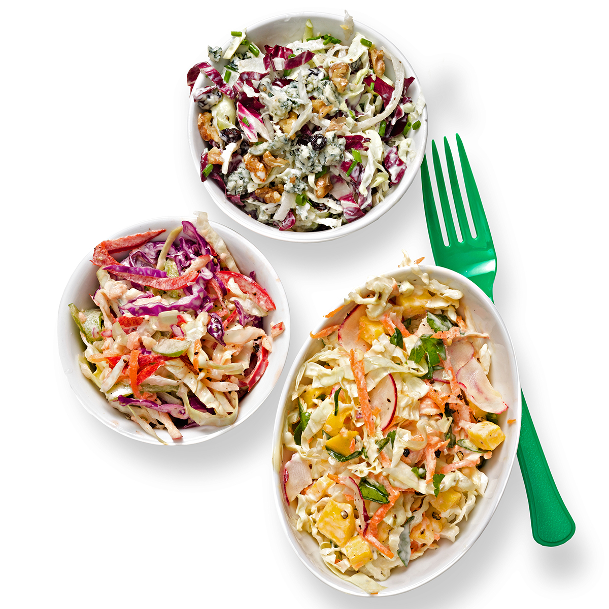 pepper and apple coleslaw