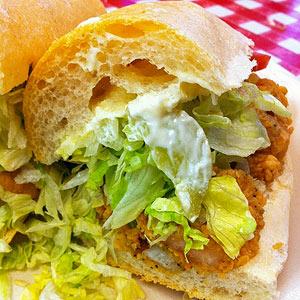 Po' Boy Sandwich
