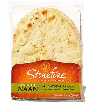 Stonefire All Natural Garlic Naan
